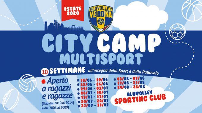 BluVolley Sporting Club – City camp 2020