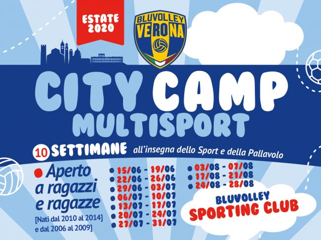 BluVolley Sporting Club – City camp 2020